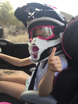 Bailey on the Rzr
